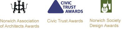 Norwich Association of Architects Awards Civic Trust Awards Norwich Society Design Awards